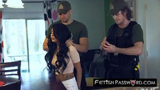 teen monica asis fucked rough by policeman for release deal
