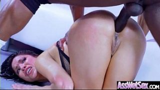 Big Ass Girl (Aleksa Nicole) Get Oiled Up And Hard Analy Nailed On Cam mov-04